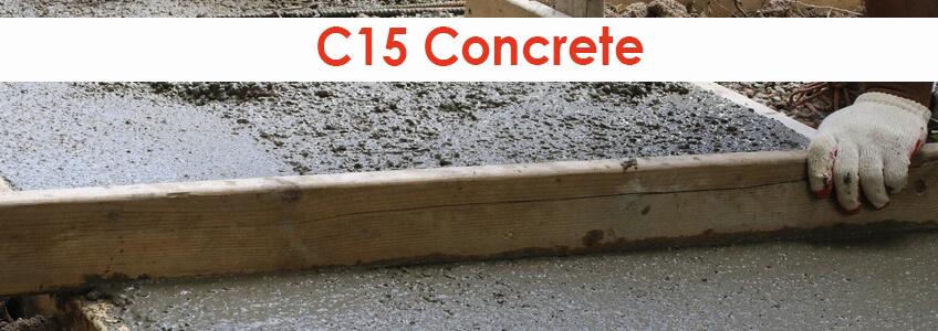 C15 Concrete