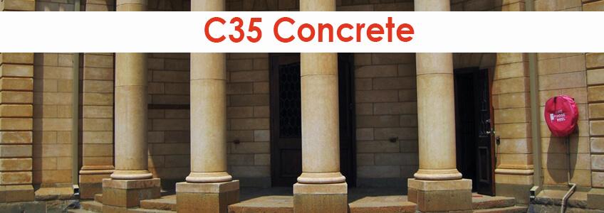 c35 concrete